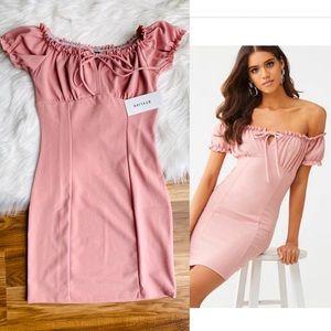 🤩🤩 3/$25 Off-the-Shoulder Mini Dress
